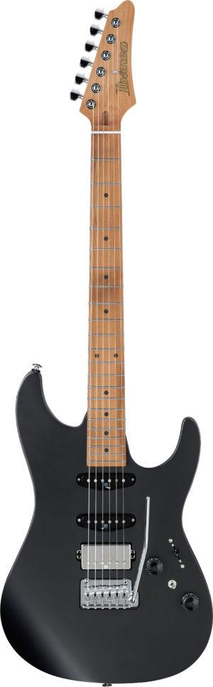 IBANEZ AZ-Series E-Gitarre 6 String Black Flat + Gigbag PGPGB