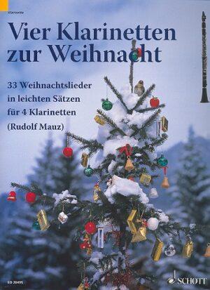 4 Klarinetten zur Weihnacht für 4 Klarinetten Spielpartitur