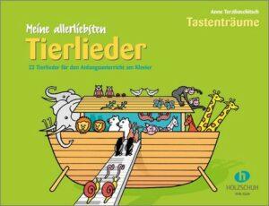 Meine allerliebsten Tierlieder für Klavier (Lehrer-Begleitung ad lib)