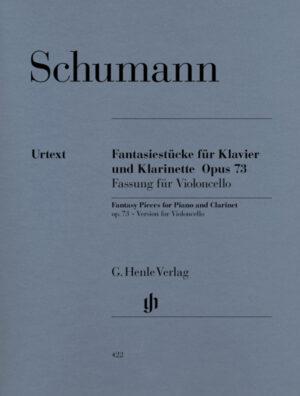 Fantasiestücke op.73 für Violoncello und Klavier