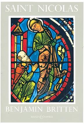 Saint Nicolas op.42 for tenor, mixed chorus and orchestra vocal score (en)