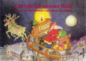 Christkind kommt bald für Klavier
