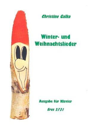 Winter- und Weihnachtslieder für klavier (jeweils eigenständiger Klaviersatz und Begleitung zum Instrumentalsatz