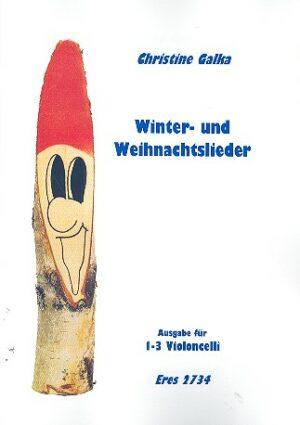 Winter- und Weihnachtslieder für 1-3 Violoncelli mit Playback-CD