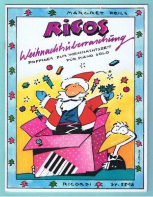 Ricos Weihnachtsüberraschung Poppiges zur Weihnachtszeit für Klavier
