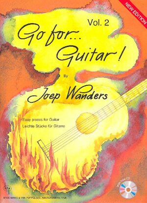 Go for guitar vol.2 (+CD) Easy pieces for guitar
