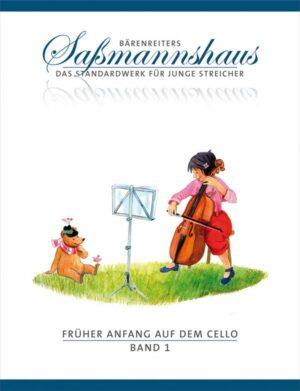 Sassmannshaus, Egon Früher Anfang auf dem Cello Band 1 für Violoncello Neuausgabe 2008