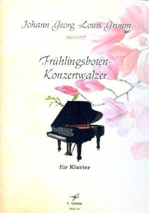 Frühlingsboten-Konzertwalzer für Klavier