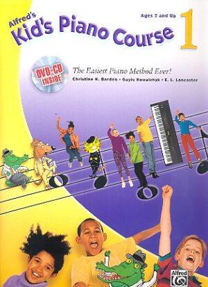 Barden, Christine H. Kid's Piano Course vol.1 (+CD +DVD)