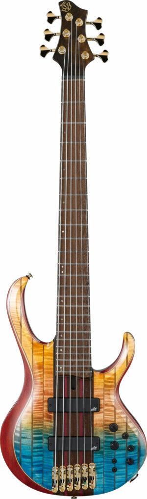 IBANEZ BTB Premium Serie E-Bass 6 String Sunset Fade Low Gloss + Bag