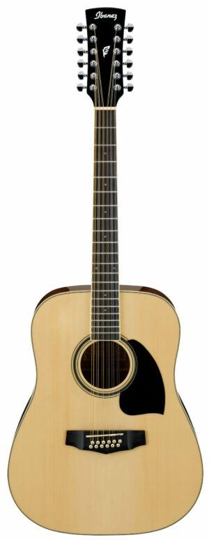 IBANEZ PF-Serie Akustikgitarre 12 String Performance Natural High Gloss