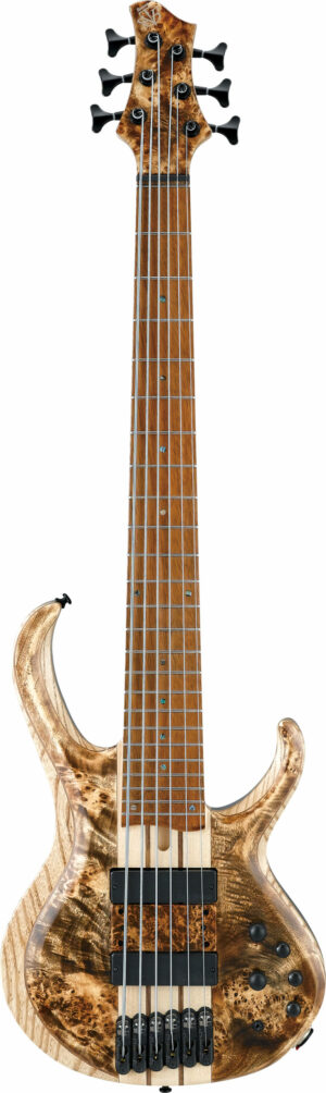 """IBANEZ Bass Workshop E-Bass Upgraded 33"""" """"Volo"""" 5 String Antique Brown Stained Low Gloss"""