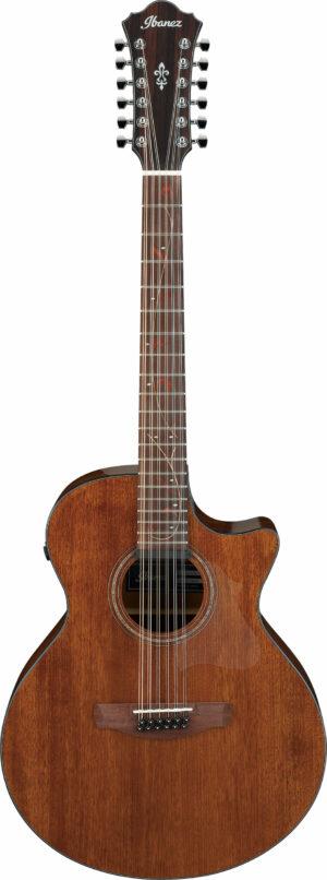 IBANEZ AE Series Akustikgitarre 12 String Natural Low Gloss