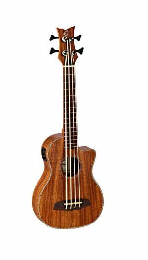 ORTEGA Lizard Series U Bass Baritone Größe inkl. Tasche