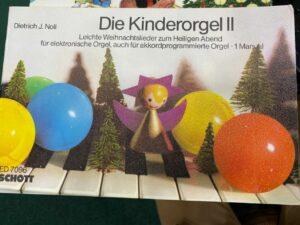Leichte Weihnachtslieder zum Heiligen Abend für elektronische Orgel