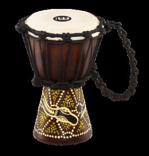 MEINL Percussion African Style Mini Djembe Dark Serpent Design