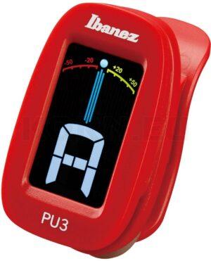 IBANEZ Chromatisches / Automatisches Clip Stimmgerät Red