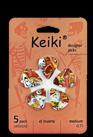 "KEIKI ""El Muerto"" Picks 5 Stück"