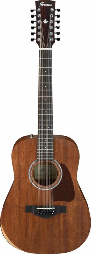 IBANEZ Artwood Akustik Junior Gitarre 12 String Open Pore Natural + Bag