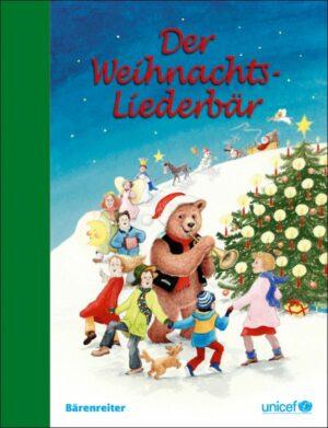Der Weihnachts-Liederbär Liederbuch für Gesang / Gitarre