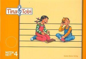Tina und Tobi Notenheft 4 (4 Systeme)