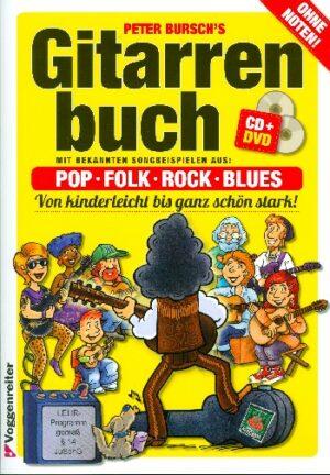 Bursch, Peter Gitarrenbuch Band 1 (+DVD +CD) Neuausgabe 2015