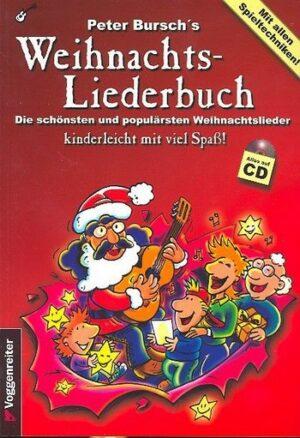 Peter Bursch's Weihnachtsliederbuch (+CD) für Gitarre mit Noten/Tab