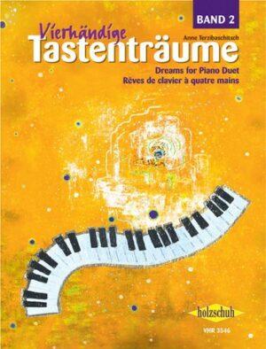 Vierhändige Tastenträume Band 2 für Klavier zu 4 Händen Spielpartitur