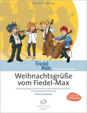 Weihnachtsgrüße (Medley) für Streichorchester Partitur und 6 Stimmen
