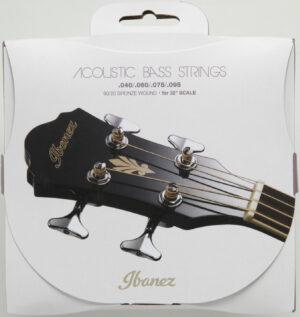 """IBANEZ Saiten Set für 4 String Akustikbass 32"""" Mensur .040/.060/ 075/.095 Carbon-Coated 80/20 Bronze"""