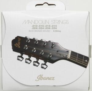 IBANEZ Saiten Set für 8 String Mandoline .010/.014/.024/.034 80/20 Bronze