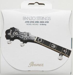 IBANEZ Saiten Set für 5 String Banjo .010/.012/.016/.023/.010 Nickel Wound