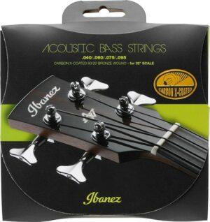 "IBANEZ Carbon X-Coated Strings für 32"" Mensur Akustik Bass 040-095 80/20 Bronze"