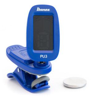 IBANEZ Chromatisches / Automatisches Clip Stimmgerät Blue