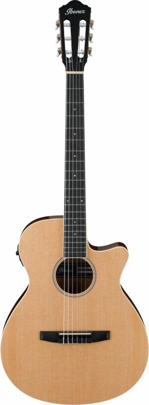 IBANEZ AEG Series Akustik/Elektrische-Gitarre 6 String Natural