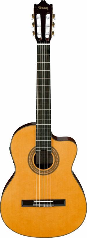 IBANEZ Konzertgitarre mit Cutaway 6-Saiter Amber High Gloss