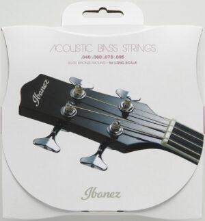 IBANEZ Saiten Set für 4 String Akustikbass .040/.060/.075/.095 Coated 80/20 Bronze