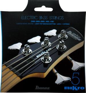 """IBANEZ Saiten Set für 5 String Mikro Bass 28.6"""" Mensur .045/.065/.085/.105/.130 Nickel Wound"""