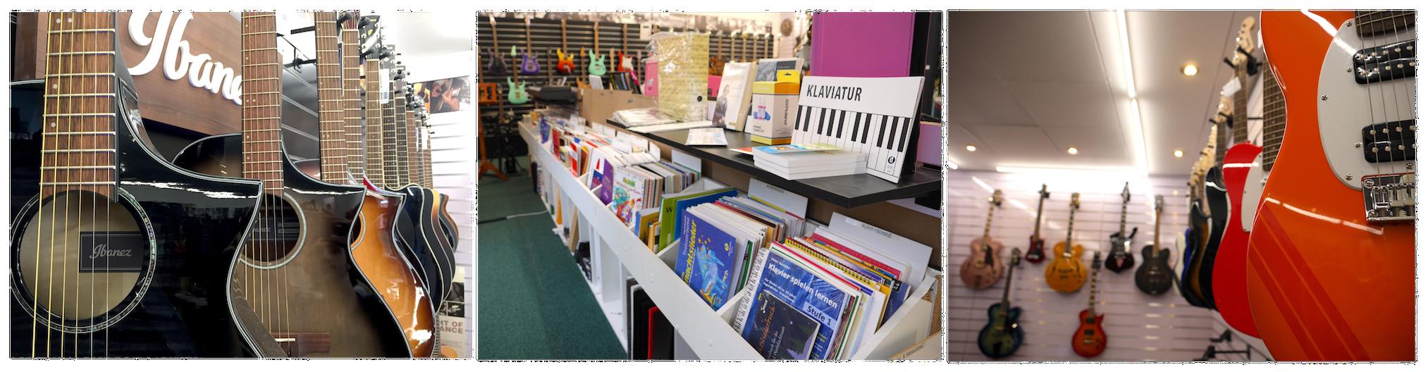 Geschäft für Musikinstrumente: Musikhaus Karami