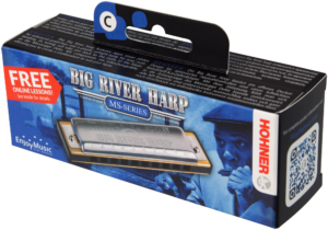 HOHNER Mundharmonika, Big River Harp MS, C, Small Box