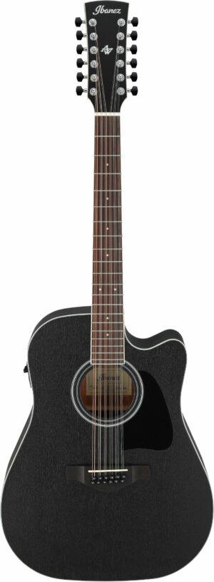 IBANEZ Artwood Akustik Gitarre 6 String Weathered Black