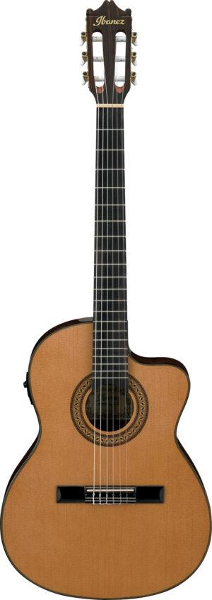 IBANEZ Konzertgitarre mit Cutaway 6 String Amber High Gloss