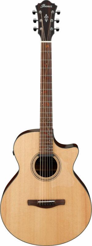 IBANEZ AE Series Akustik/Elektrische Gitarre 6 String Natural Low Gloss