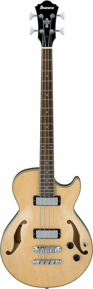 IBANEZ Artcore Semi-Hollow Bass 4 String Natural