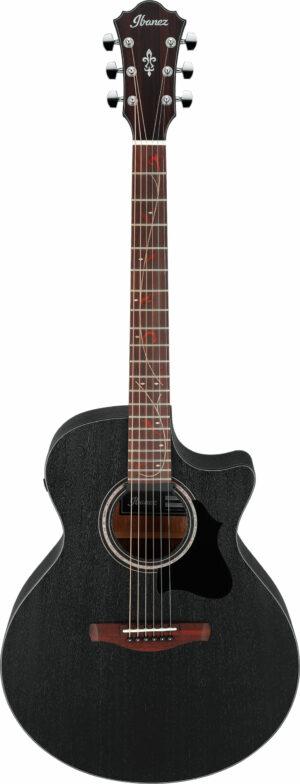 IBANEZ AE Serie Akustik Gitarre 6 String Weathered Black