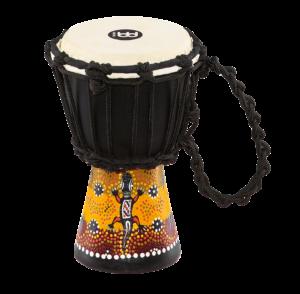 MEINL Percussion African Style Mini Djembe Gecko Design
