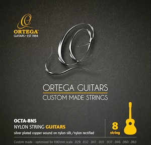 ORTEGA Single String - Nylon Silver- plated Copper Wound Single String 032