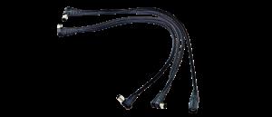 ORTEGA 4-fach DC Stromverteilerkabel