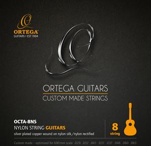 ORTEGA Single String - Nylon Silver- plated Copper Wound Single String 031
