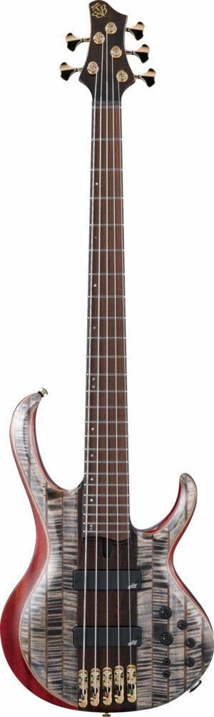 IBANEZ BTB Premium Serie E-Bass 5 String Black Ice Low Gloss + Bag